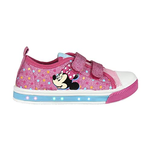 Cerdá Zapatilla Loneta Luces Minnie, Niñas: Amazon.es: Zapatos y complementos