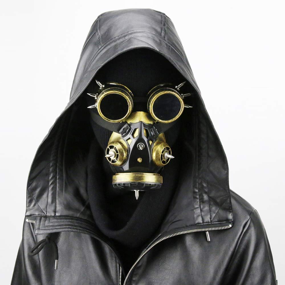 GY Halloween-Maske, Steampunk-Maske, Masken Party Essential, Halloween-Cosplay-Neuheit-Maske, Universelle Größe