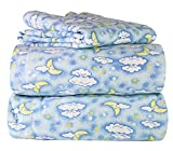 Piece 100% Soft Flannel Cotton Bed Sheet...
