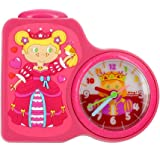 Baby Watch - Dring Princesse - Réveil Fille - Quartz Analogique - Cadran Multicolore