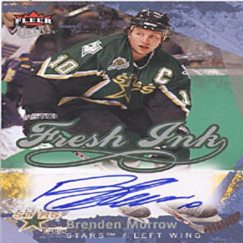 Fimo Star (Brenden Morrow Autographed / Signed 2007 Fleer Ultra Dallas Stars Fresh Ink Card #FI-MO)