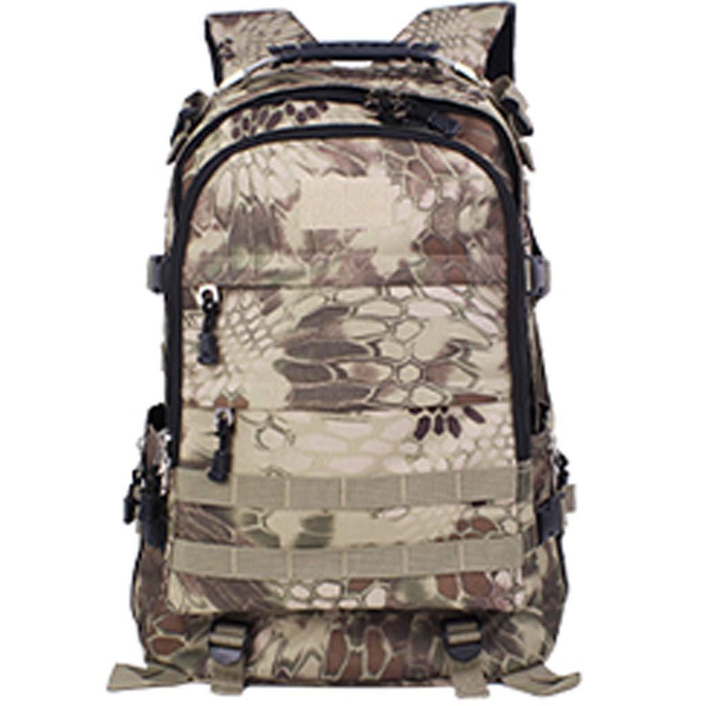XJRHB Outdoor Rucksack Bergsteigen Rucksack Männertasche Männertasche Männertasche Tarnung Rucksack Multifunktionsreise DREI-Ebenen-Tasche mit großer Kapazität B07NMRWCWG Wanderruckscke Ruf zuerst e8fea7