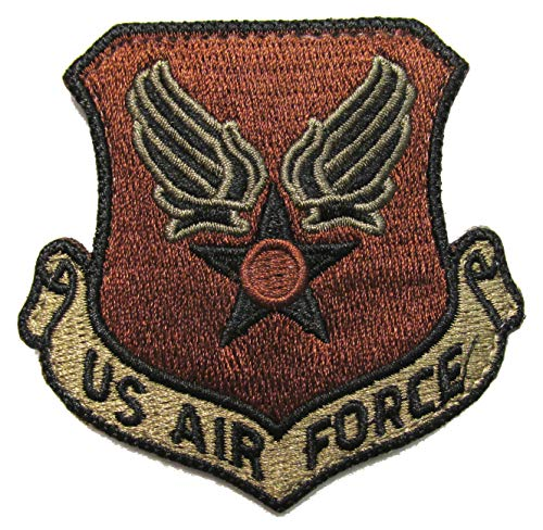 (U.S. Air Force Wing & Star OCP Patch - Spice Brown)