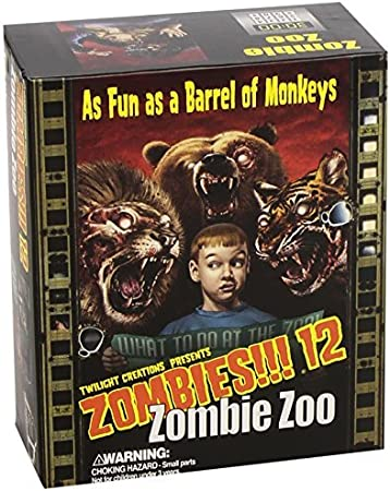 Zombies Expansion 12: Zombie Zoo by Twilight Creations, Inc