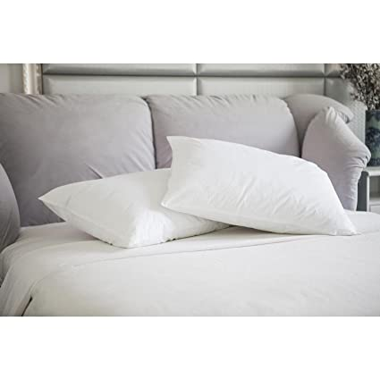 amazon com st james home natural memory white feather jumbo pillow rh amazon com