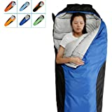 Camping Sleeping Bag-Envelope Mummy Outdoor Lightweight Portable Waterproof Perfect for 0 degree Traveling,Hiking Activities