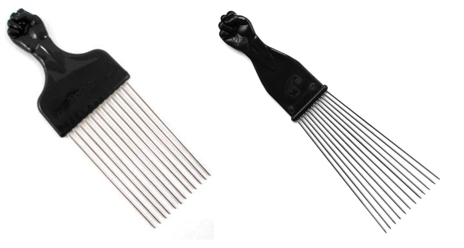 Amazon.com : Afro Hair Pick (F-7027) : Hair Combs : Beauty - photo#5