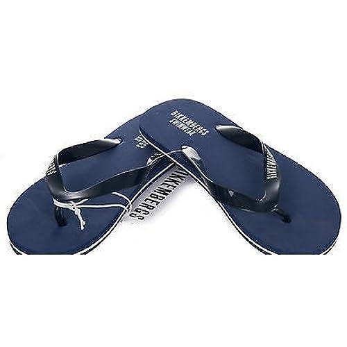 Playa flip flop zapatillas BIKKEMBERGS a. P304 W71 45 3000 tamano de color azul: Amazon.es: Zapatos y complementos