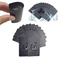 EAY Luxury Playing Cards 100% Waterproof Flexible Plastic 52+2 Poker