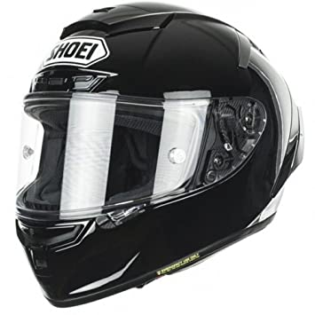 Shoei X-Spirit 3 Plain negro Full Face casco de moto