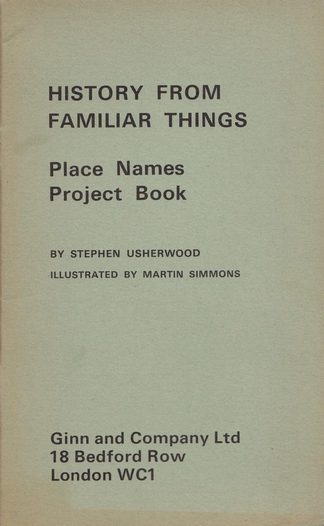Place Names: Project Bk (History from Familiar Things): Amazon co uk