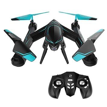 ZHTY Mini Drone con cámara de Gran Angular 0.3/2.0MP Helicóptero ...