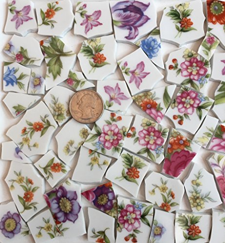 Mosaic Tile Art Supply for Mosaics & Crafts ~ Tiles (T#654) ()