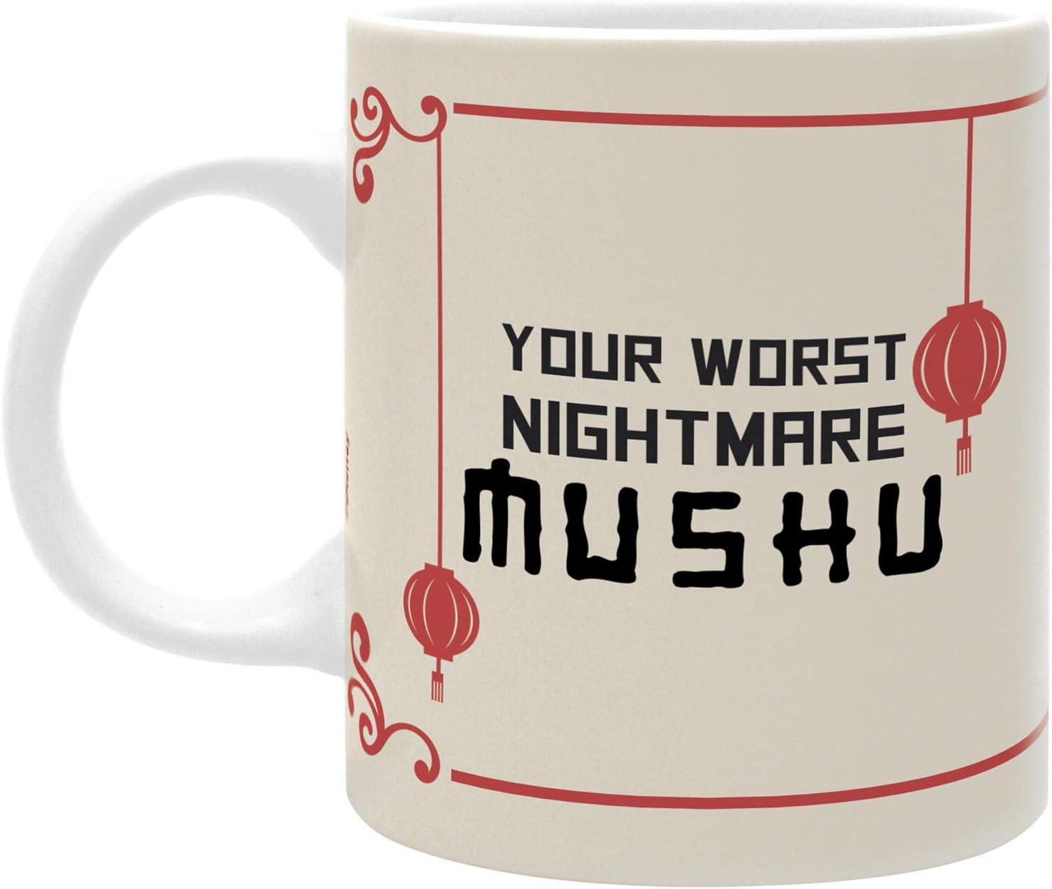 Mushu Your Worst Nightmare Disney ABYstyle Taza 320 ml Mulan