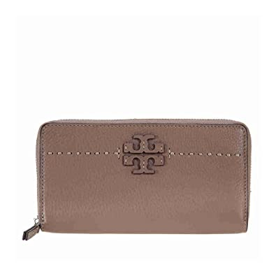 01ec4cf6219f8 Image Unavailable. Image not available for. Color  Tory Burch McGraw  Continental Wallet - Silver Maple