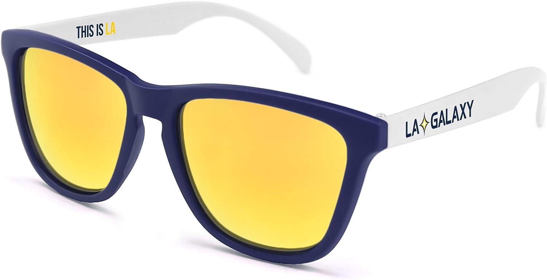MLS Los Angeles Galaxy  La Galaxy  Sunglasses One Size LAG-2 White