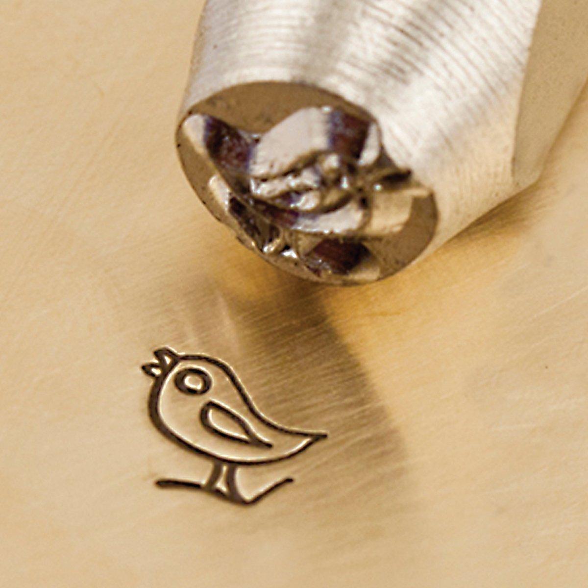 Song Bird Design Stamp 6mm ImpressArt