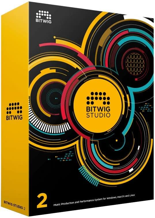 front facing Bitwig Studio Music Production