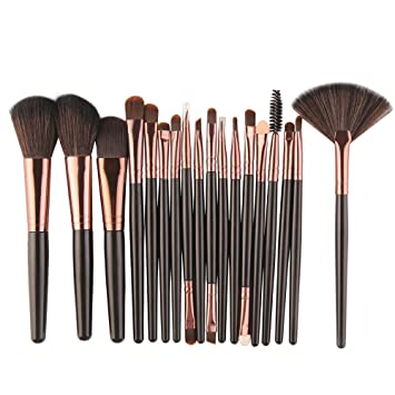 Make Up Pinsel Set 18 Stück Machen Up Pinsel Pulver Pinsel Lip