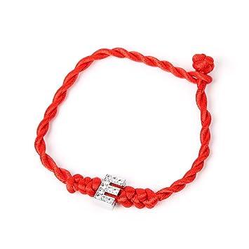 012207174f68 ZOOMY Pulsera Día de San Valentín Cuerda de la Cuerda afortunada ...