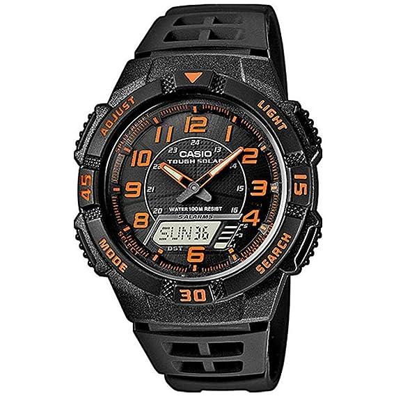 5b55ce6ff684 Casio Reloj analógico-Digital para Hombre de Cuarzo con Correa en Resina AQ-S800W-1B2VEF   Amazon.es  Relojes