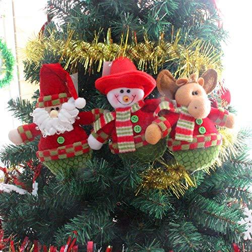 Navidad Arbol - Deer Snowman Pendant Chrismas Tree Hanging Ornament Gift Santa Claus Christmas Decoration Arbol De - Christmas Toy Table Buy Decor Wooden Pine Christmas Fairy 180cm Christmas T