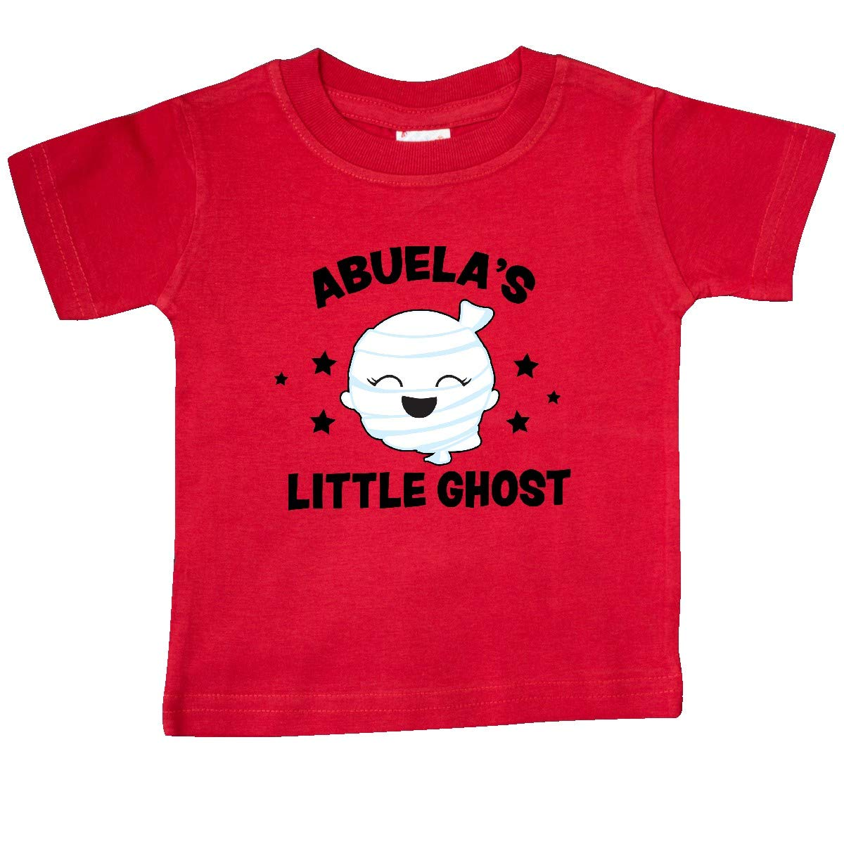 inktastic Cute Abuelas Little Ghost with Stars Baby T-Shirt
