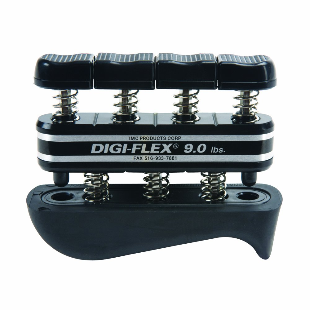 Digi-Flex Black Hand and Finger Exercise System, 9 lbs Resistance