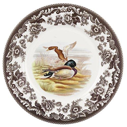 Spode 1606319 Woodland Luncheon Plate (Mallard) (Plates China Woodland)