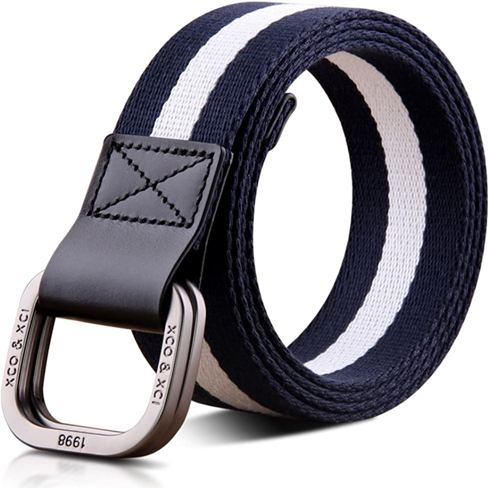 JIEJING Stylish Canvas Belt,Mens Leisure Belt Youth Student Belt