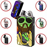 The Flame X Electric Lighter USB Rechargeable, 100% Windproof Arc Lighter, Plasma Lighter, Flameless and Butane Free - Alien
