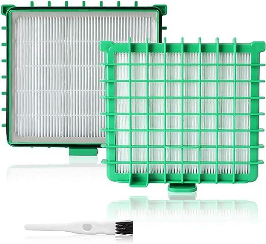 AIEVE 2 Piezas Filtro HEPA Accesorios de Repuesto para aspiradora ...