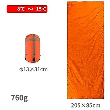 GZD Thin mini saco de dormir adulto tipo rectangular sobre puede ser empalmado doble saco de