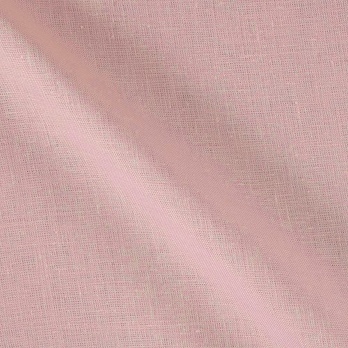 - Lino Textile 0562486 100% European Medium Weight Linen Light Pink Fabric by The Yard,