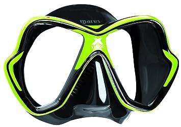 Mares X-Vision 14 - Gafas de buceo unisex, color negro/verde,