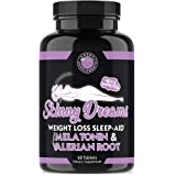 Angry Supplements Skinny Dreams, Night Time Sleep Aid for All-Natural Weight Loss, Restful Sleep w/Melatonin, Burn Fat…
