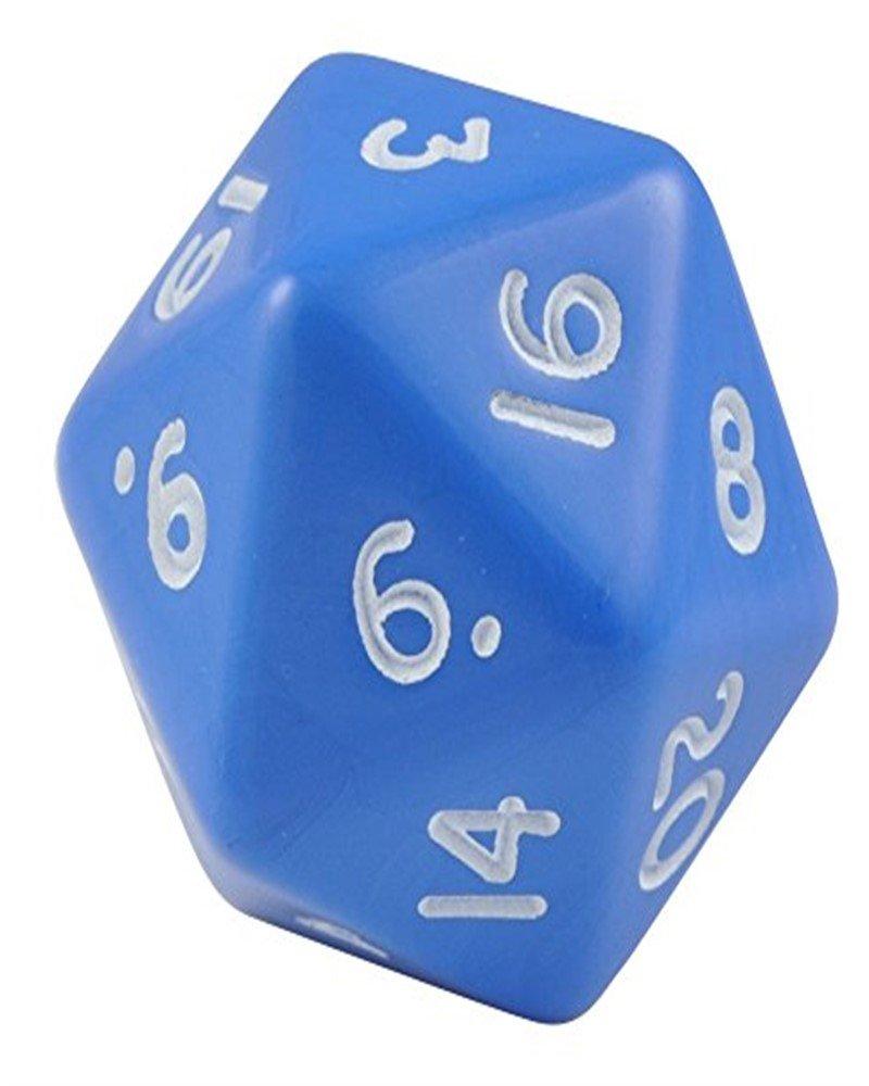 買い保障できる Blue Jumbo Polyhedral 20 - Sided Dice - Blue Set B0056QAAJ4 of 2 B0056QAAJ4, カジュアルクロージング With:044895df --- cliente.opweb0005.servidorwebfacil.com
