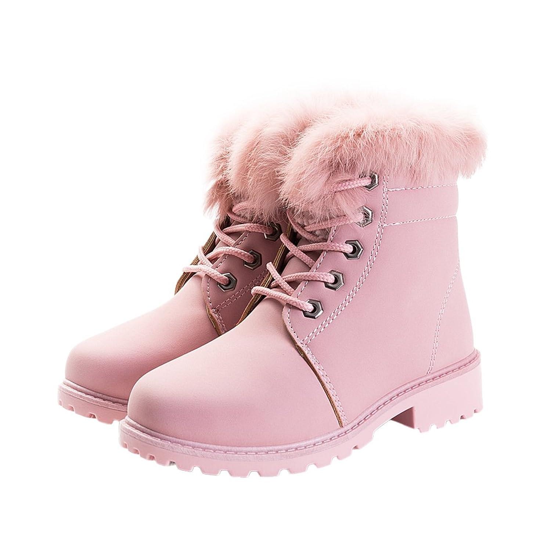531ab8bd10eaf Per Martin Boots Enfant Fille Hiver Chaussures Chaudes Fille Botte Enfant Boots  Hiver Fille Rose
