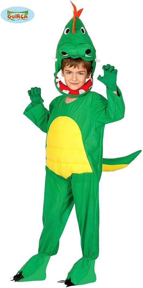 NET TOYS Disfraz Infantil Dinosaurio - 5 - 6 años, 110 - 115 cm ...