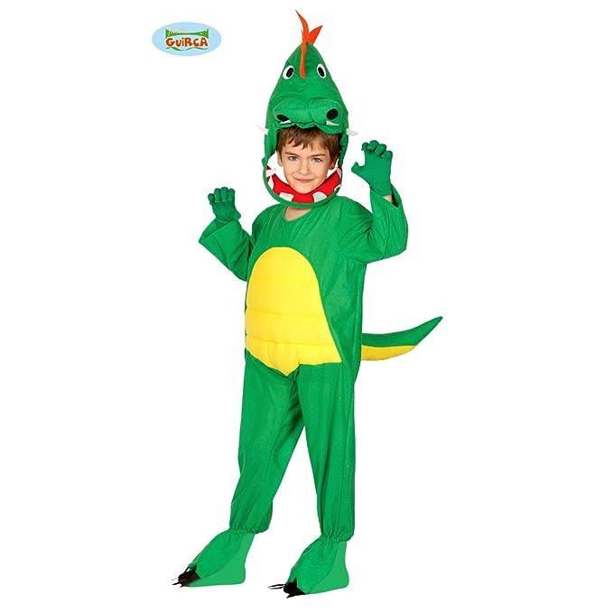 Amakando Traje Niño Dragón - 3 - 4 años, 95 - 100 cm   Disfraz ...