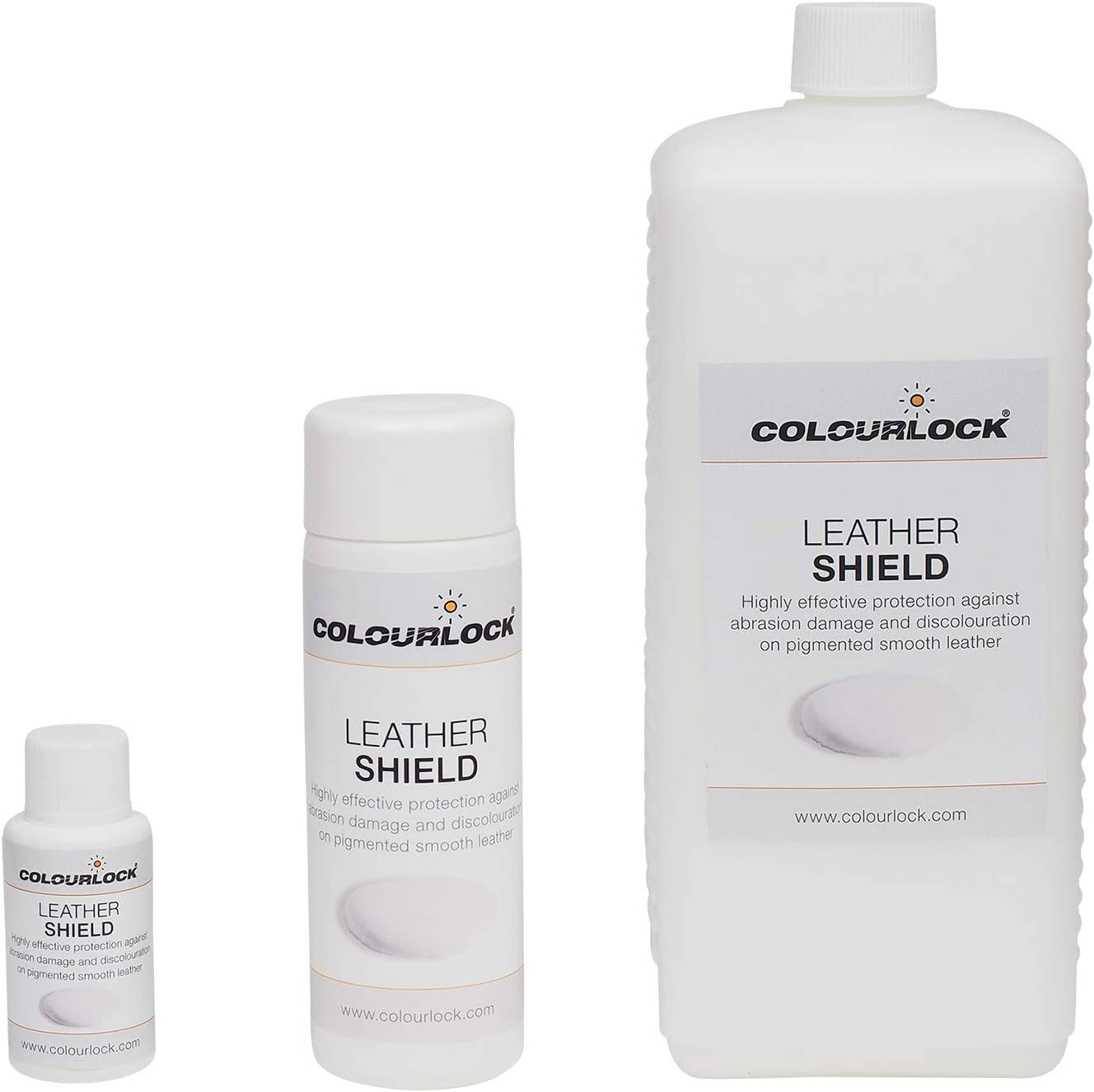 COLOURLOCK Leather Shield for New Leathers & Protection from Ink & dye transfers on Leather (1 Litre)