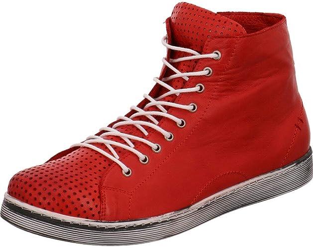 Andrea Conti 0345728021 Damen Schuhe Freizeitschuhe rot
