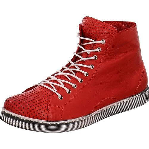 Rot Damen Andrea 0345728021 Freizeitschuhe Conti Schuhe PXnw80Ok