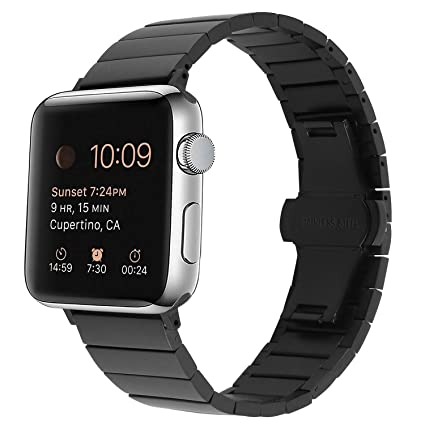 Amazon.com: Banda de Apple Watch acero inoxidable, swaws ...