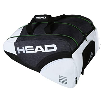 Head PALETERO Alpha SANYO MONSTERCOMBI Negro Blanco