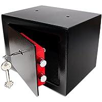 Schramm® Caja Fuerte Caja Fuerte con Cerradura Mini Caja Fuerte Mini Caja Fuerte de Pared Caja Fuerte para Muebles Caja…