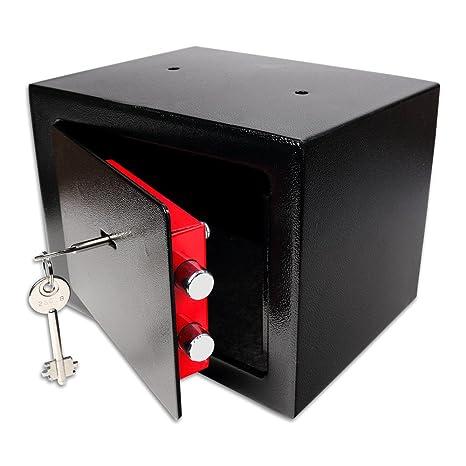 Schramm® Caja fuerte con cerradura Minisafe Mini caja fuerte de pared caja fuerte con llave