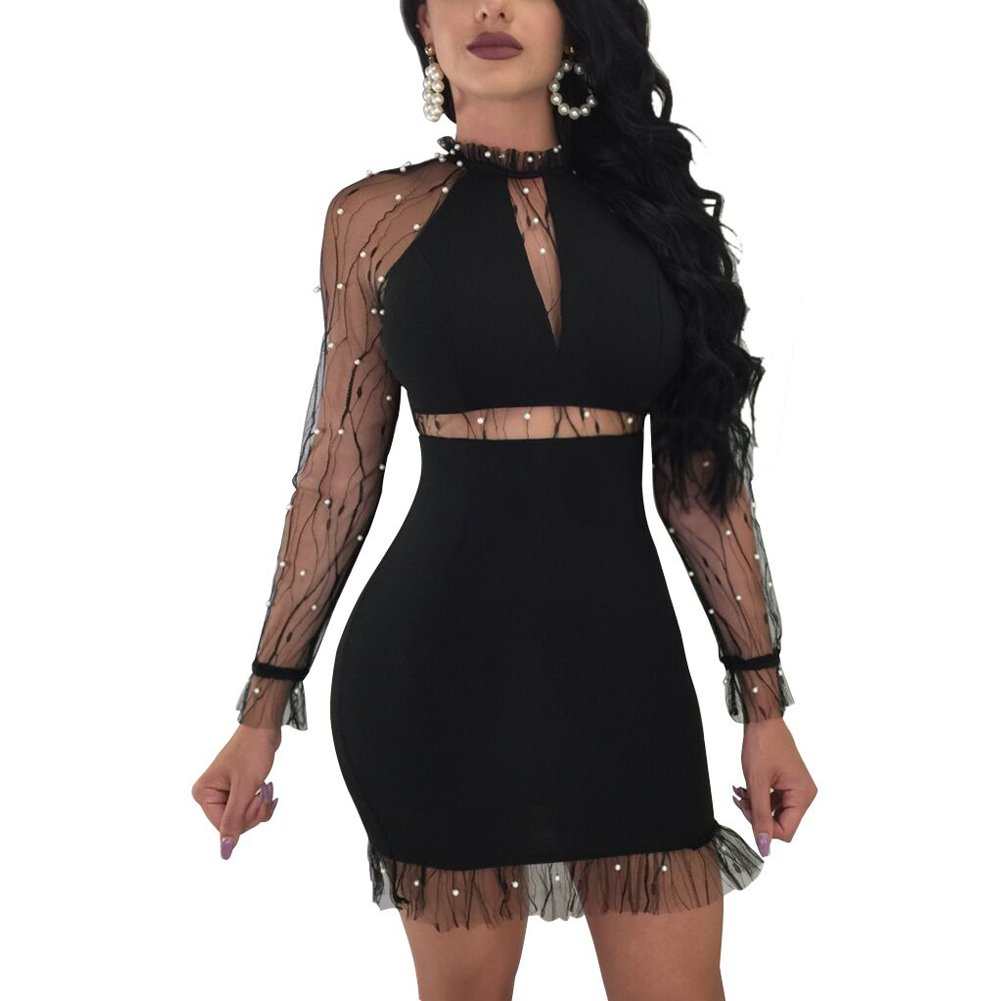 33b754fe071 Top 10 wholesale Mock Neck Lace Bodycon Dress - Chinabrands.com