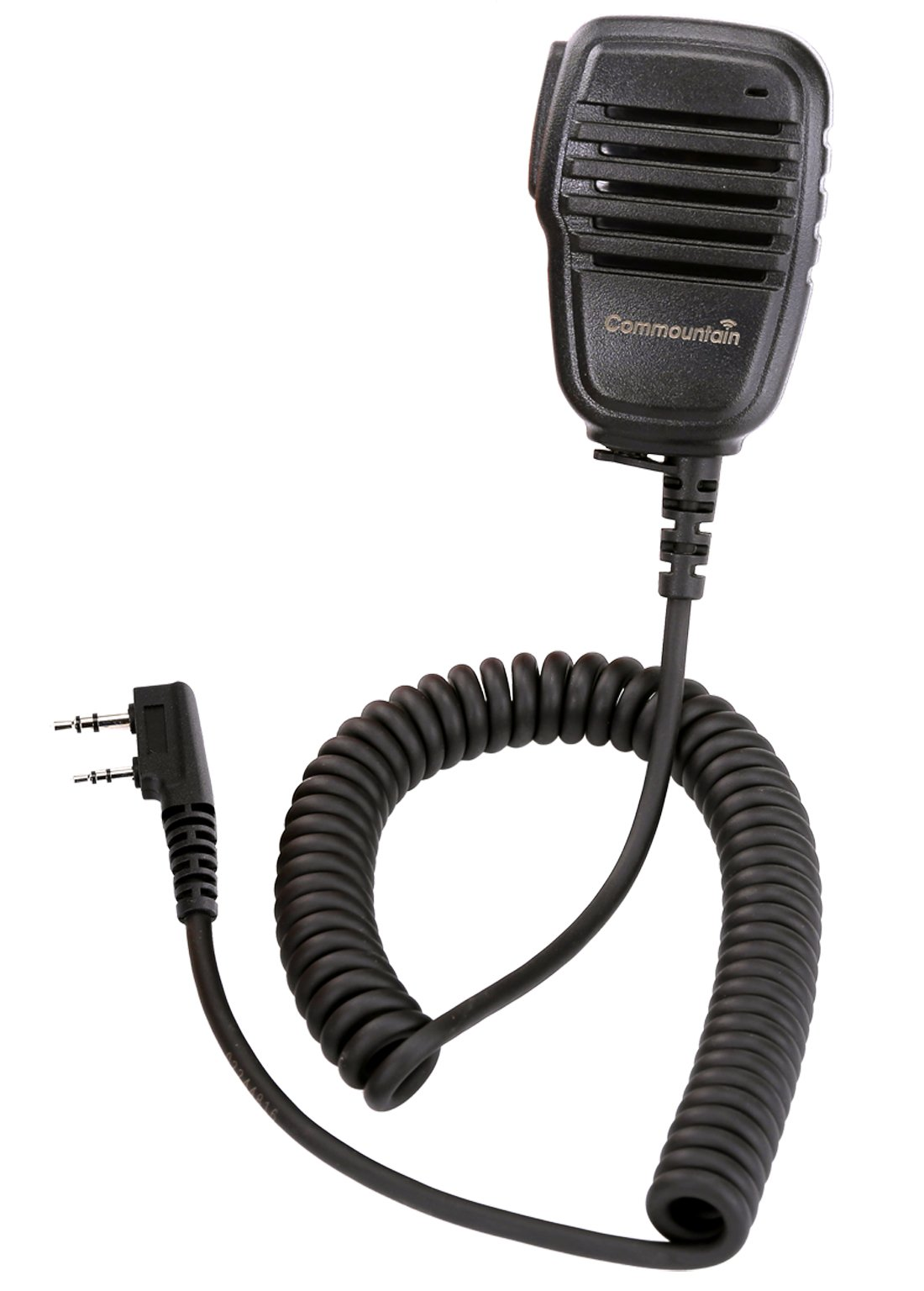 Compact Speaker Mic with Kevlar Reinforced Cable for Baofeng Radio BF-F8HP BF-F9 UV-82 UV-82HP UV-82C UV-5R UV-5R5 UV-5RA UV-5RE UV-5X3 V2+ and TYT Wouxun Kenwood Radio, Shoulder Speaker Microphone by Commountain (Image #5)