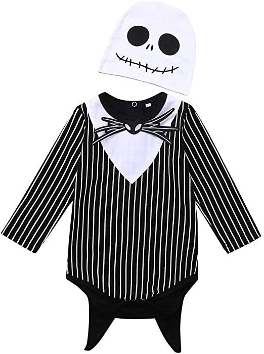 Liumintoy Halloween Disfraz Niños Mameluco Disfraz Fiesta Cosplay ...